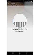 WLAN Manager App - Analyse des optimalen WLAN Kanals
