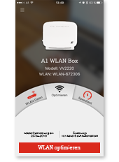 A1 WLAN Manager App - Startanalyse