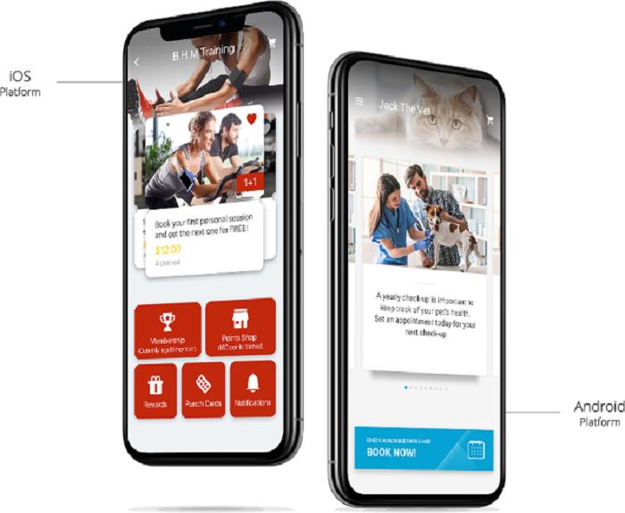 Bobile Mobile App Buchungstool