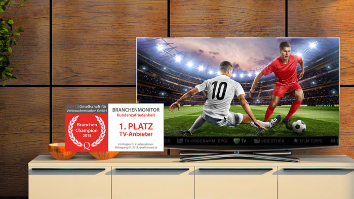 A1 TV Plus + 500h Speicherplatz 24 Monate geschenkt