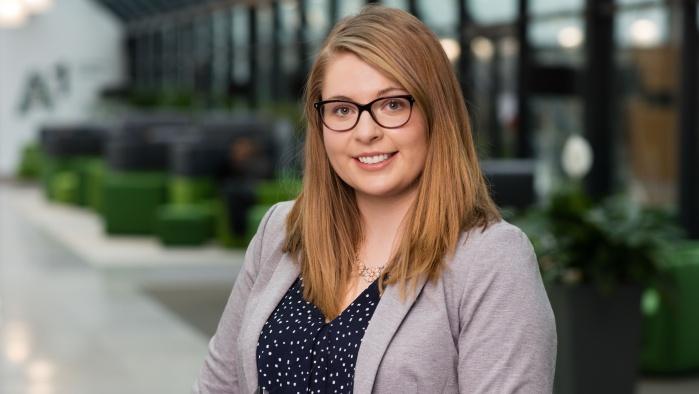 Christina Carr - Graduate bei A1