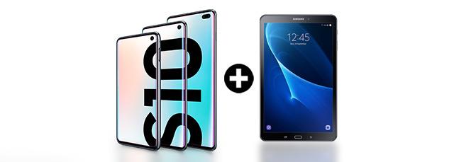Samsung Galaxy S10 mit Tab A