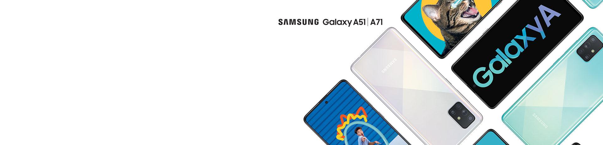 Samsung A51 und A71