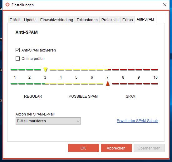 IKARUS anti.virus Anti-Spam Modul