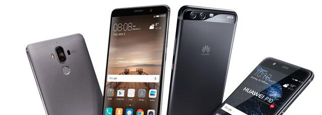 Alle Huawei Smartphones bis zu € 50,- günstiger