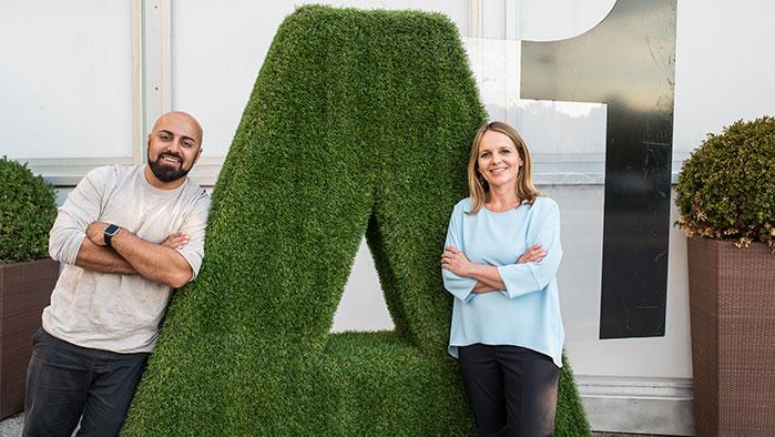 A1 - Natascha Kantauer-Gansch  und WHATCHADO Gründer Ali Mahlodji