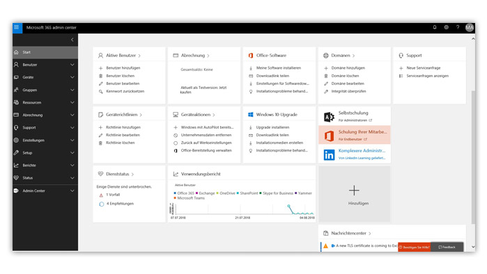 Office 365 Admin-Center