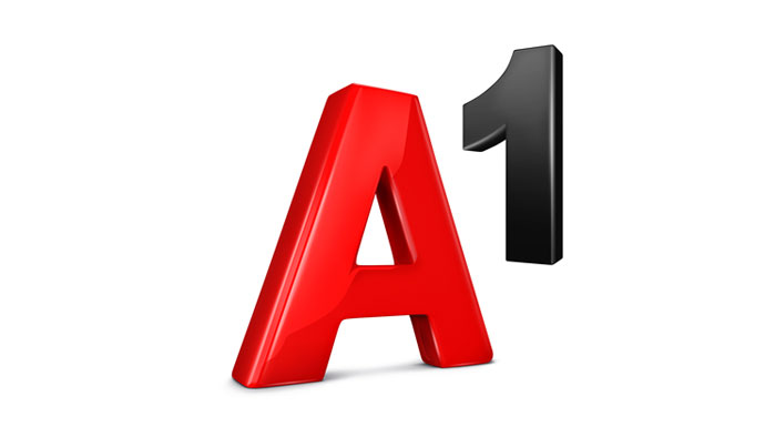 A1 Logo in Rot