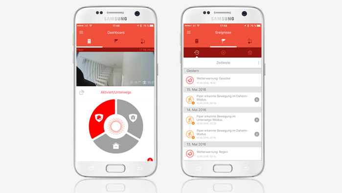 Piper Smartphone App
