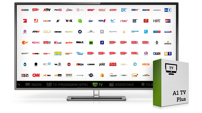A1 TV Plus Paket