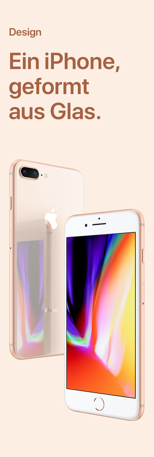 iPhone 8 Großaufnahme