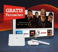 Internet + TV + gratis Fernseher