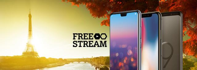 A1 Go! Tarife inklusive Roaming und Free Stream