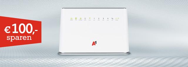 A1 Internet für zuhause - im 5Giganetz