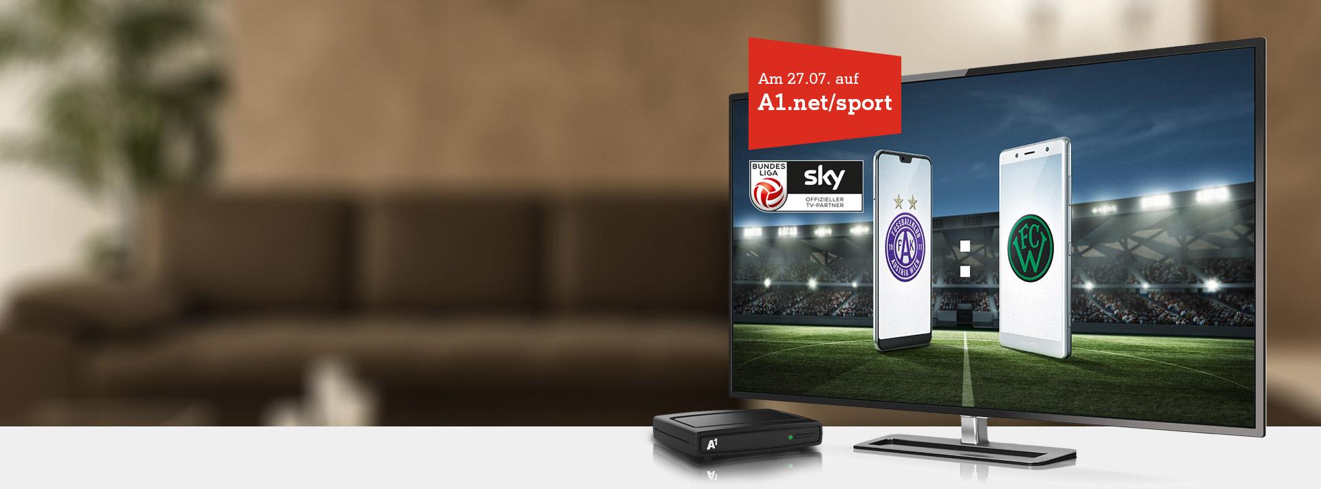 Fußball Bundesliga auf A1.net/sport