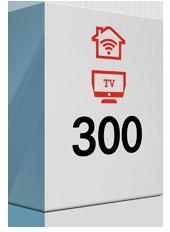 300 Mbit Internet und TV