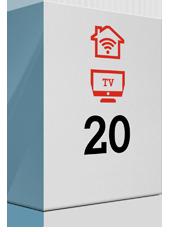 Top-Angebot: TV Kombi 20 Mbit/s