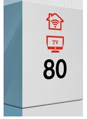 A1 TV Kombi 80 Mbit/s