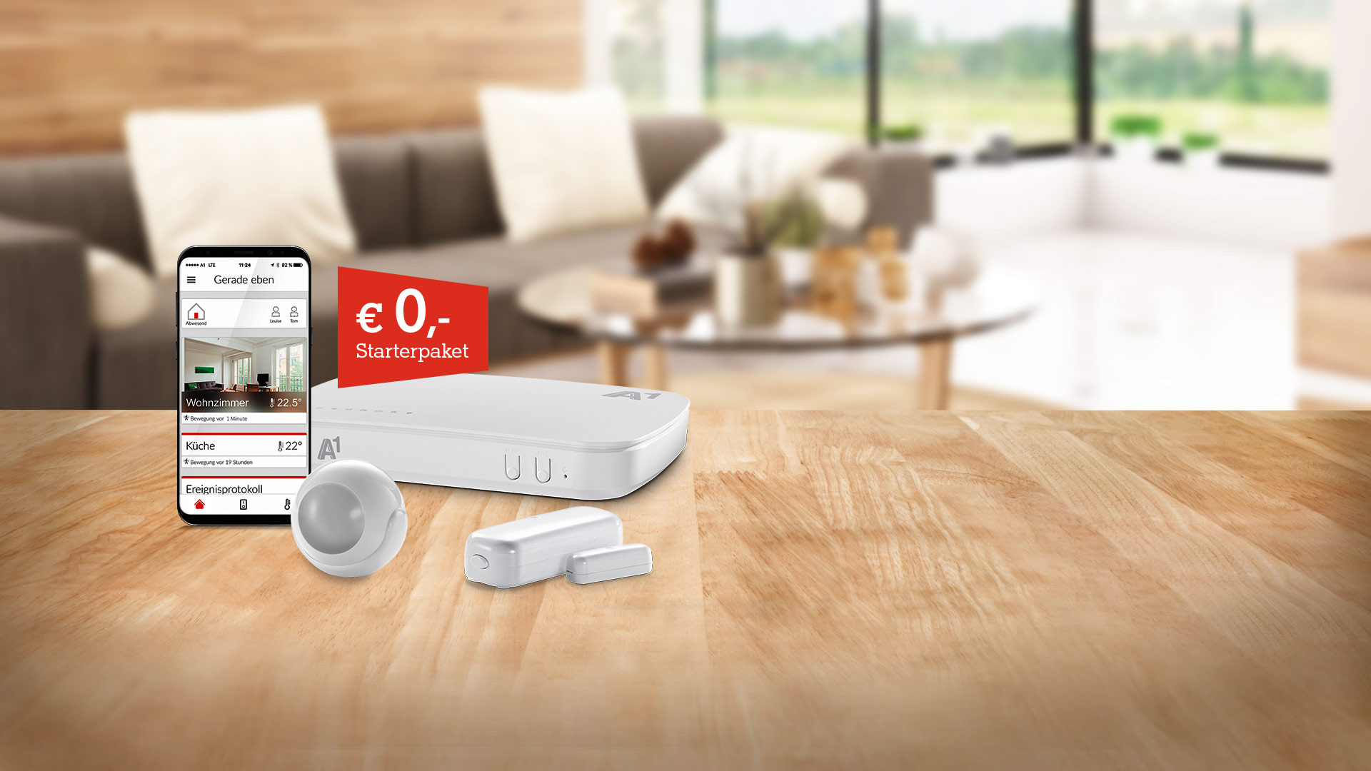A1 Smart Home - Starterpaket um € 0,-