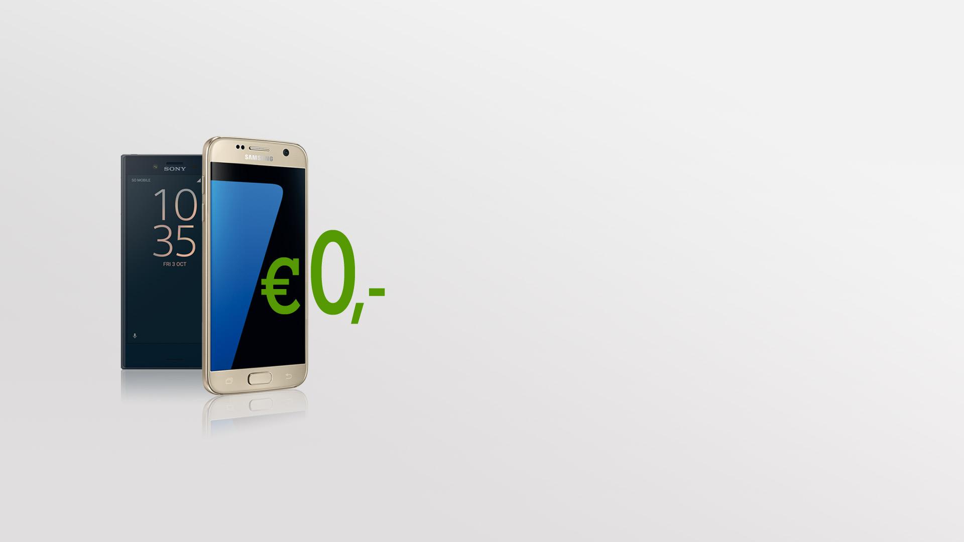Sony Xperia X Compact und Samsung Galaxy S7