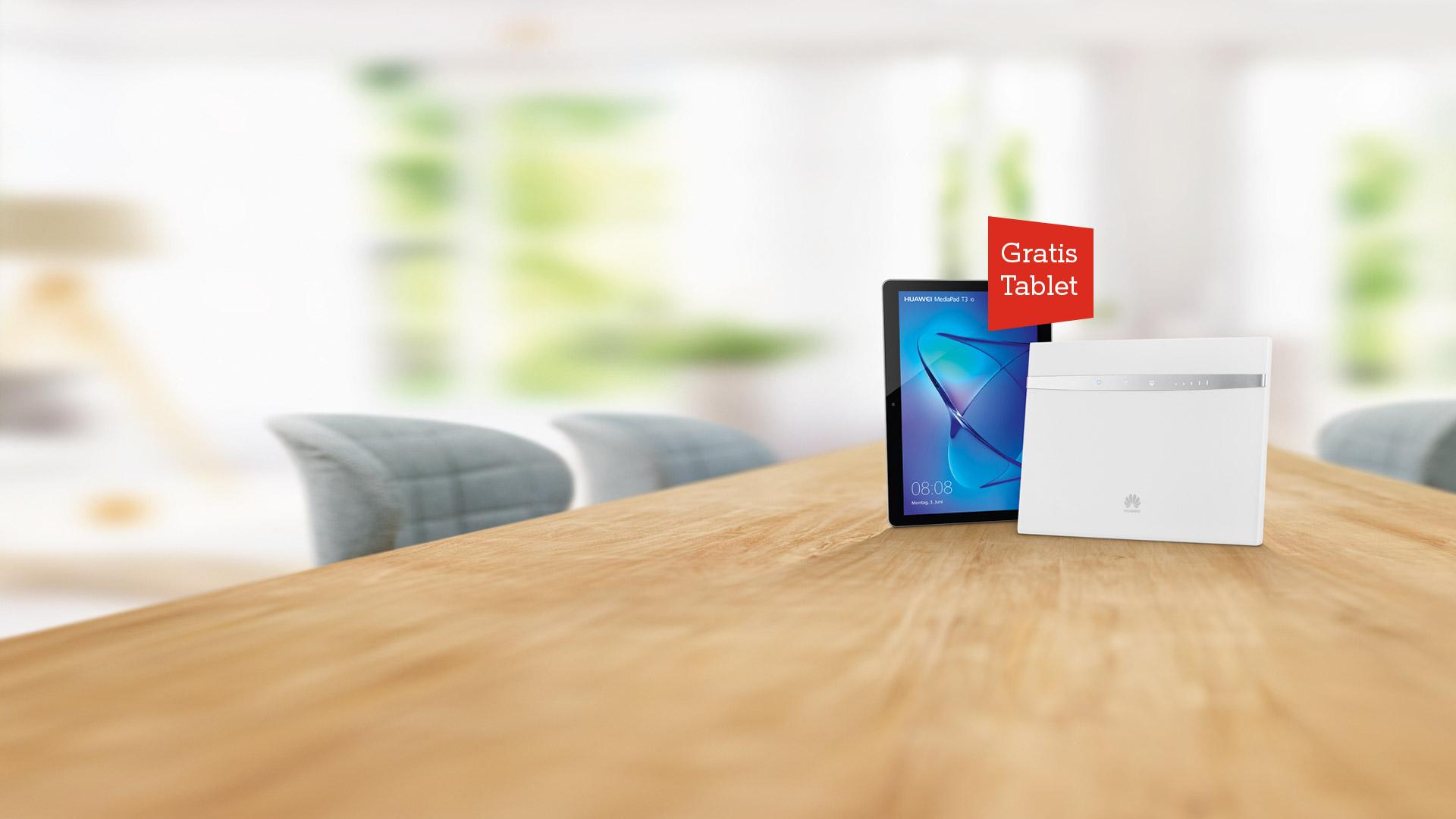 Net Cube mit gratis Tablet