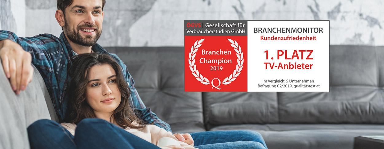 Branchen Champion 2018 TV-Anbieter
