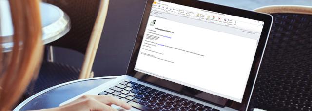 A1 Rechnung per E-Mail erhalten