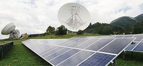Photovoltaik-Park in Aflenz, Steiermark