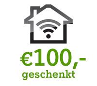 € 100,- geschenkt