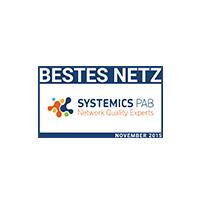 Systemics Award bestes Netz 2015