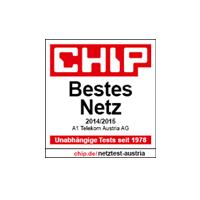 Chip Award bestes Netz 2014/15