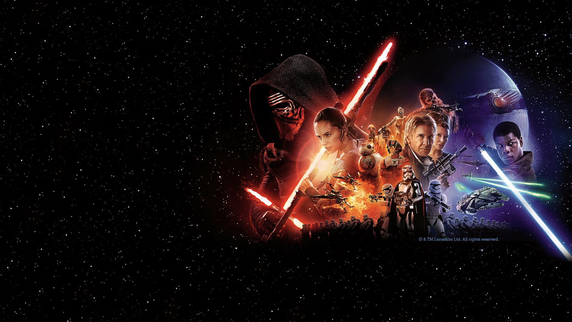 Star Wars - Das Erwachen der Macht Filmsujet