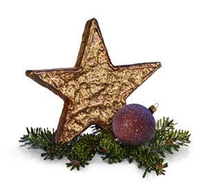 Weihnachtlicher Deko-Stern