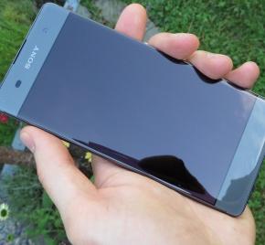 Sony Xperia XA im A1 Blog Test